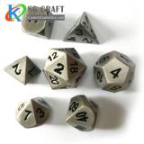 Antique Metal Dice