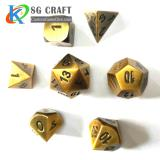 Antique Gold Metal Dice
