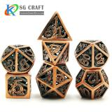 Statue of Liberty Style Metal Dice
